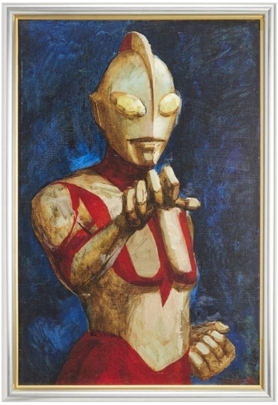 シン・ウルトラマン 成田亨氏の油彩画「真実と正義と美の化身」